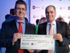 Pelo 5° ano consecutivo,  empresa reafirma seu compromisso com causas sociais e faz doação de R$ 300 mil para a AACD Durante os dias 4 e 5 de novembro,  o SBT exibiu o Teleton 2016 para arrecadar