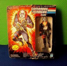 Vintage Mexican Boxed Destro Gi Joe Auriken Variant Mexico Comandos Heroicos | eBay