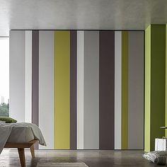 Ultramodern, sophisticated 'Balzac' wardrobe. Beautifully modern, contemporary piece. My Italian Living.