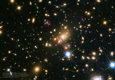 It's back. Never before has an observed supernova been predicted. The unique astronomical event occurred in the field of galaxy cluster MACS J1149.5+2223. Most bright spots in the featured image are galaxies in this cluster. The actual supernova, dubbed Supernova Refsdal, occurred just once far across the universe and well behind this massive galaxy cluster.