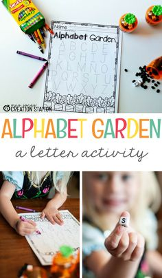 Teachers, Alphabet Garden is great activity to use in your literacy centers! It's a perfect activity to use in the spring, and spring is a great time to assess your learners of their knowledge of letter recognition. Use this activity as a good practice before the big assessment! With this specific activity, your learners will review their letters or introduce words.  It's Time to Visit the Alphabet Garden - Mrs. Jones' Creation Station #Alphabet #LiteracyCenters