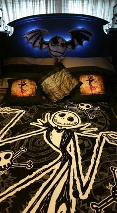 Nightmare before christmas dream bed