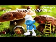 007 - Streng geheim !!!  Lustiger Schlumpf  Kaffee, Zoobe, Animation