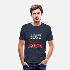 Apres Ski Party, Jesus Loves You, Pullover, Slim Fit, Love You, Hoodies, Mens Tops, Design, Clothes