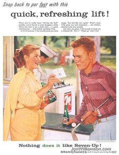 Vintage 7-Up ad