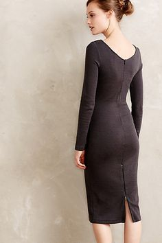 Oana Sweaterknit Pencil Dress - anthropologie.com