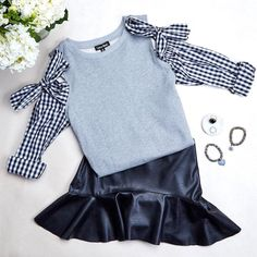 ✔️ (Link in bio to snag this Sewing For Kids, Baby Sewing, Little Girl Fashion, Kids Fashion, Mini Diva, Cotton Frocks, Divas, Girl Outfits, Cute Outfits