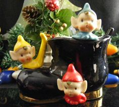 Vintage Rare Colors Pixies Elfs in a by KissingKansasWinds on Etsy, $34.99