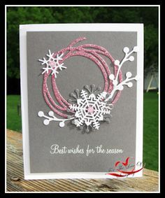 Christmas Cards | Card Making | DIY Cards | Creative Scrapbooker Magazine #christmas #cards #scrapbooking