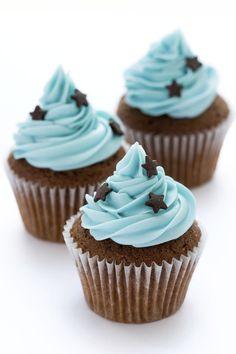 Cupcakes ideas bases para 59 New Ideas Cupcake Creme, Cupcake Frosting, Cupcake Cakes, Cake Fondant, Vanilla Cupcakes, Chocolate Cupcakes, Chocolate Chocolate, Chocolate Frosting, Deco Cupcake