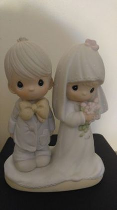 Precious Moments Figurine - The Lord Bless You   Keep You - Marriage -  Wedding Nice 9340fa7bab3d
