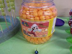 Super mario party snack. Fireballs