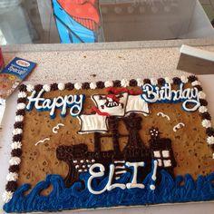 Arrrgggggg! Cookie Cake Designs, American Cookie, Decorated Cookies, Cookie Decorating, Birthday Ideas, Decorated Sugar Cookies