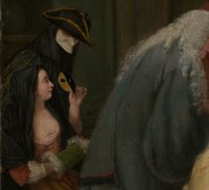 The Meeting | probably 1746 | Pietro Longhi (Pietro Falca) (Italian, Venetian) | Oil on canvas