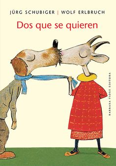 Wolf Erlbruch illustration animal kiss for Valentines Day Childrens Book Illustration, Cute Illustration, Wolf, Animals Kissing, Lectures, Children's Literature, Whimsical Art, Storytelling, Childrens Books