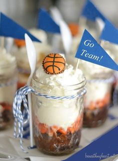 Buzzer Beater Brownie Sundaes #voteforme Reese's Baking Bracket Challenge