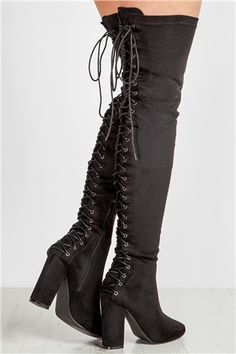 Office Kung Fu Over The Knee Boots Grey Pinterest Boot And Gray