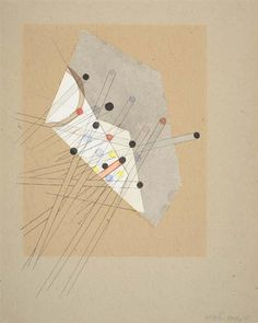 László Moholy-Nagy, Composition, 1930    This is magical!!!