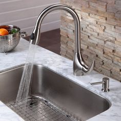 100+ Built In soap Dispenser for Kitchen Sink - Backsplash Ideas for Small Kitchen Check more at http://www.entropiads.com/built-in-soap-dispenser-for-kitchen-sink/