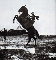 Giuseppe Primoli (1851-1927), Annie Oakley, Buffalo Bill's Wild West Show, Rome, 1890.