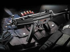 Heckler & Koch MP5 9mm sub-machine gun