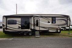 """FINEST IN LUXURY TRAVEL!!!  2017 Jayco Pinnacle 36FBTS Expect no less than the best! A gorgeous master bathroom and handy half bath offer fresh convenience! Kick back on the amazing theater sofa and enjoy your favorite shows on the large LED HDTV! A 6-point electric auto leveling system makes setup a breeze! The 36FBTS is 40'9"""" long and weighs 13,500 lbs. Give our Pinnacle expert Michael Zoldan a call 616-405-4936 or email him at: michael@allseasonsrv.com for pricing and more information."""