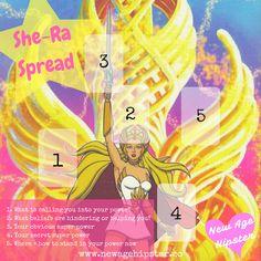 She-Ra tarot spread x