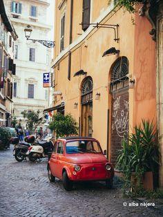 Rome street Italy