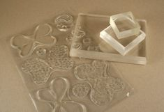 Cleaning and using clear stamps
