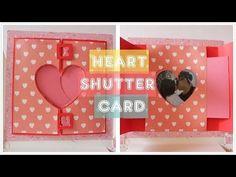 Hide and Seek card Tutorial by Srushti Patil Slider Cards, Flip Cards, Fancy Fold Cards, Pop Up Cards, Box Cards Tutorial, Card Tutorials, Diy Tutorial, Tarjetas Pop Up, Swing Card