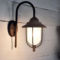 Shop Lighting Collective for this funky outdoor coach light, LED compatible. Coach Lights, Exterior Lighting, Shop Lighting, Traditional Design, Contemporary, Modern, Wall Lights, Led, Glass