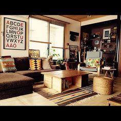 309  ニトリ/りんご箱/DIY/床の間/和室を改造/男前も可愛いも好き…などのインテリア実例 - 2015-04-24 19:43:25 | RoomClip(ルームクリップ)