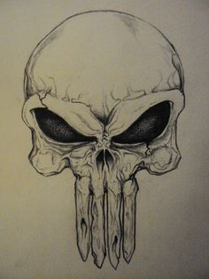 Punisher Skull by ~k0op4 on deviantART