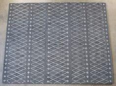 RUG296 - 8' x 10' Sagar Rug in Charcoal
