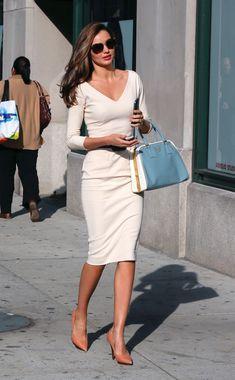 Women's Fashion Tips Miranda Kerr Photos - Miranda Kerr in White - Zimbio.Women's Fashion Tips Miranda Kerr Photos - Miranda Kerr in White - Zimbio Classy Outfits, Chic Outfits, Fashion Outfits, Fashion Quiz, Modest Fashion, Irish Fashion, Japanese Fashion, Korean Fashion, Miranda Kerr Style