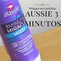 Testei mais um famoso da internet, será que o Aussie 3 minutos milagrosos vale mesmo a fama que tem? Confira no blog:  http://www.oolhaisso.com/2015/04/aussie-3-minutos-milagrosos-vale-a-pena.html