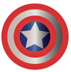 Captain America Shield INSTANT DOWNLOAD by MerakiBottegaCo