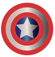 Captain America Shield INSTANT DOWNLOAD by MerakiBottegaCo