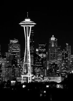 nice shot of the space needle