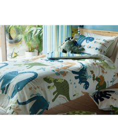 Buy Dino Multi Single Bed Duvet Set at Argos.co.uk - Your Online Shop for Children's bedding sets.