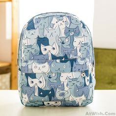 Wow~ Awesome Lovely Cartoon Of Fashion Casual Outdoor Backpack ! It only $33.99 at www.AtWish.com! I like it so much<3<3!