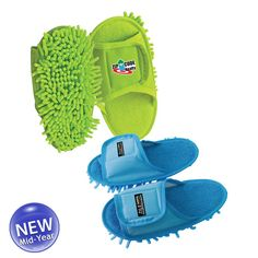 Made of microfiber material that is washable and reusable. Cleaning Fun, Floor Cleaning, New Homeowner, Velcro Straps, Your Shoes, Cool Toys, Logo Branding, Slippers