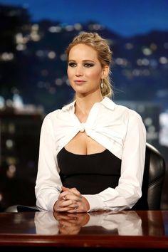Jennifer Lawrence at Jimmy Kimmel Live