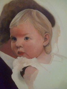 Rosie Holtby Original Artwork  www.rosieholtby.com Original Artwork, Fine Art, The Originals, Face, Painting, Animals, Animales, Animaux, Painting Art