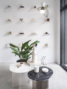 Known for their online store for over 5 years, C'est Beau finally opens the doors to their very first concept-store in Montreal. Boutique Interior Design, Boutique Decor, Boutique Ideas, Journal Du Design, Perfume Store, Retail Store Design, Retail Stores, Store Interiors, Lifestyle Shop