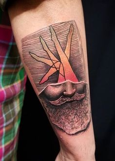 Tin Machado tattoo