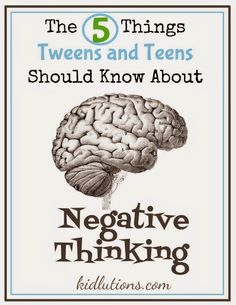 """The 5 Things Teens Should Know About Negative Thinking: """"They multiply. – They k… – Melissa Pope – art therapy activities Middle School Counseling, School Social Work, School Counselor, Counseling Activities, Art Therapy Activities, Counseling Teens, Articulation Activities, Group Activities, Spin Doctors"""