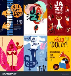 stock-vector-colorful-jazz-festival-musicians-singers-and-musical-instruments-poster-set-flat-isolated-vector-624531956.jpg (1500×1600)