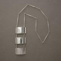 Gallery 925 - Georg Jensen 3-Segment Pendant by Astrid Fog, no. 127 , Handmade Sterling Silver
