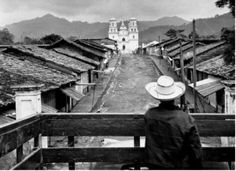 Esquipulas, Chiquimula, junio de 1954, Foto de Fernando Zaid